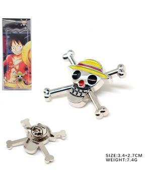 One Piece Luffy Brooch